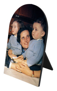 St. Gianna Molla Arched Desk Plaque