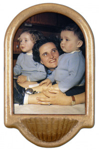 St. Gianna Molla Holy Water Font