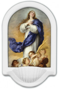 Immaculate Conception Holy Water Font