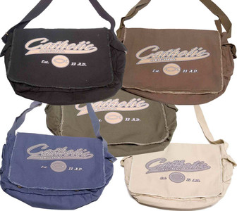 Catholic Original Large Messenger Bag