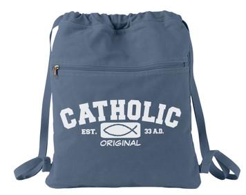 Catholic Original Canvas Backpack