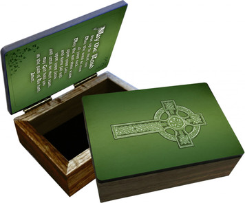 Irish Blessing Keepsake Box