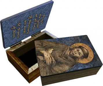 St. Francis of Assisi Keepsake Box