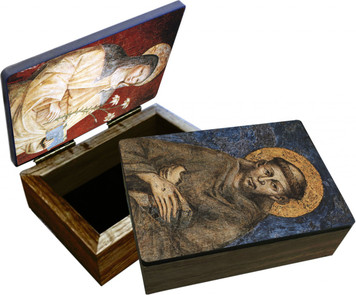 Sts. Francis and Clare Keepsake Box