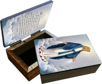 Our Lady of Grace Keepsake Box