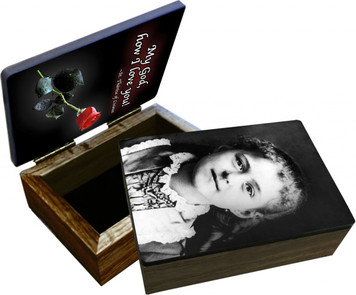 St. Therese of Lisieux (Child) Keepsake Box