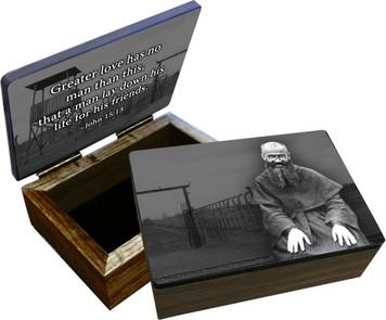 St. Maximilian Kolbe Keepsake Box