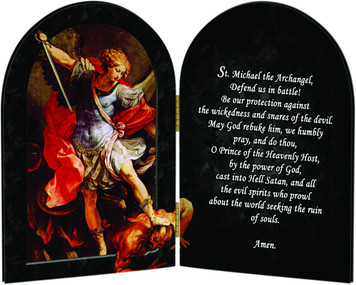 St. Michael the Archangel Arched Diptych