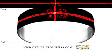 Get Holy or Die Trying Bracelet