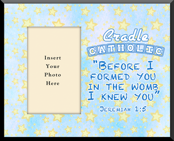 Cradle Catholic Photo Frame