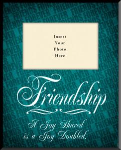 Friendship 'Joy Shared' Photo Frame