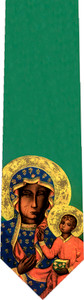 Our Lady of Czestochowa Tie