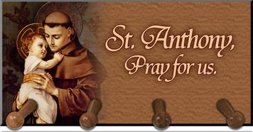 St. Anthony Keychain Holder