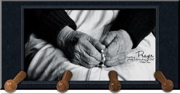 Mother Teresa Keychain Holder