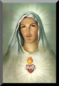 Immaculate Heart (Traditional) Wall Plaque