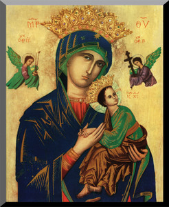 Our Lady of Perpetual Help Wall Plaque