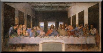 Last Supper Wall Plaque