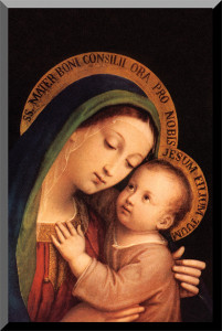 Our Lady of Good Counsel Wall Plaque