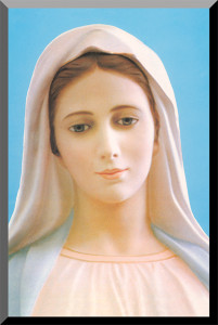 Our Lady of Medjugorje Wall Plaque