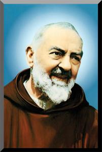 Padre Pio Wall Plaque