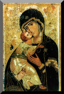 Our Lady of Vladimir wall Plaque
