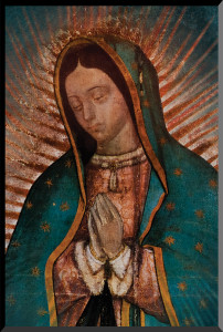 Our Lady of Guadalupe Detail Wall Plaque