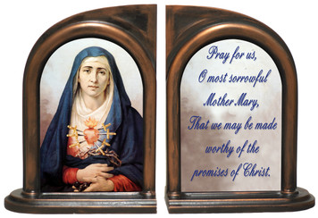 Our Lady of Sorrows Bookends
