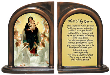 Queen of the Angels Bookends