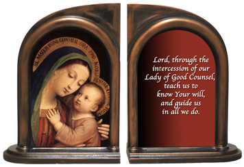 Our Lady of Good Counsel Bookends