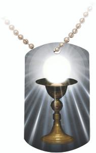Eucharist (Light) Dog Tag