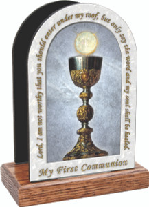 My First Holy Communion Table Organizer (Vertical)