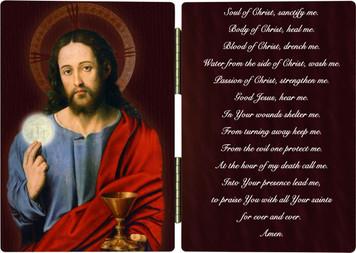 Christ Holding Eucharist Diptych
