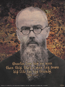 St. Maximilian Kolbe Poster