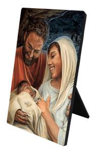 Nativity Desk Plaque