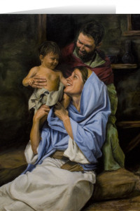 Holy Family II Greeting Card