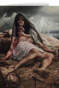 Pieta (Jenicke) Greeting Card
