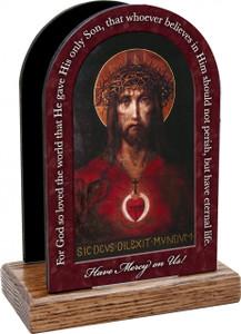 For God So Loved the World Prayer Table Organizer (Vertical)