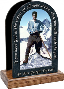 Bl. Pier Giorgio Prayer Table Organizer (Vertical)