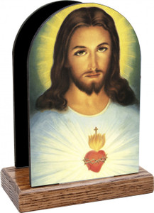 Sacred Heart Table Organizer (Vertical)