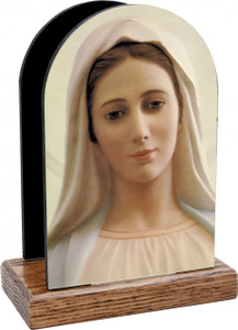Our Lady of Medjugorje Table Organizer (Vertical)