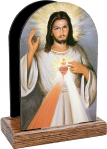 Divine Mercy Detail Table Organizer (Vertical)