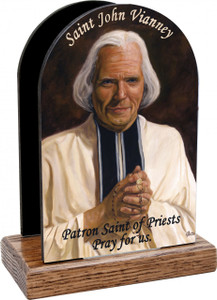 St. John Vianney Table Organizer (Vertical)