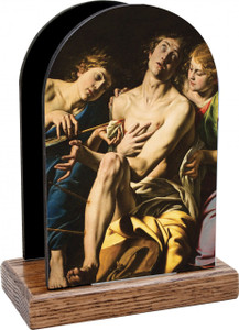 St. Sebastian Table Organizer (Vertical)