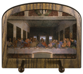 Last Supper (Da Vinci) Horizontal Peg Holder