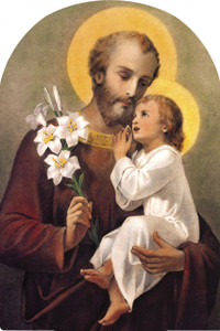 St. Joseph (Younger) Arched Magnet