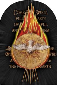 Holy Spirit Arched Magnet