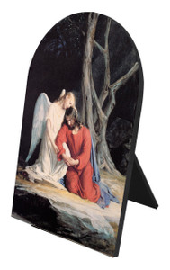 Gethsemane Arched Desk Plaque