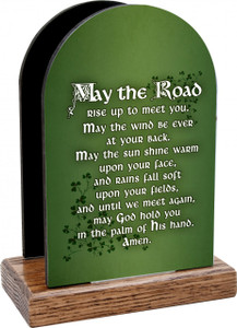 May the Road Rise Table Organizer (Vertical)