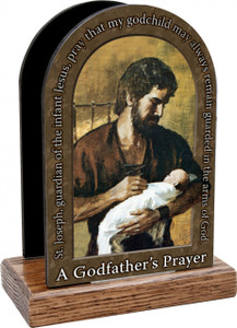 A Godfather's Prayer Table Organizer (Vertical)