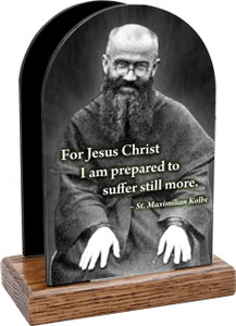 St. Maximilian Kolbe Table Organizer (vertical)